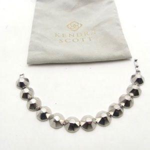 Kendra Scott Silver Studded Bracelet